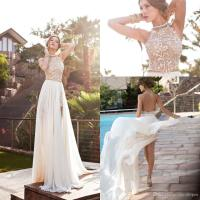 2016 Sexy Cheap Julie Vino Summer A Line Lace Wedding ...