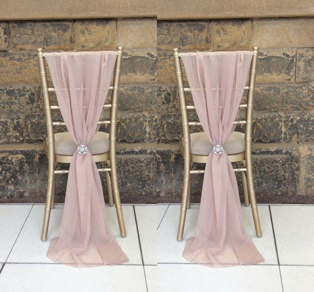 2017 Enable Destop Garden Formal Wedding Chair Cover Back