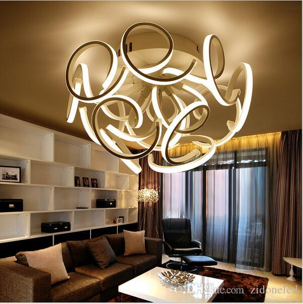led ceiling light living room candice olson gallery designs 2019 new modern lights for bedroom aluminum acrylic home dec lamp ac85 265v from zidoneled 198 1 dhgate com