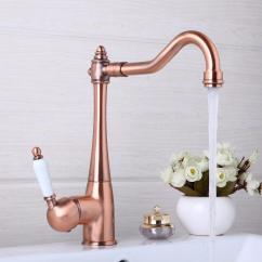 Wholesale Kitchen Faucets Hutch Ideas 2019 Swivel Antique Copper Deck Mounted Mixer Tap Bathroom Faucet Basin Hot Cold From Shuishu 79 71 Dhgate