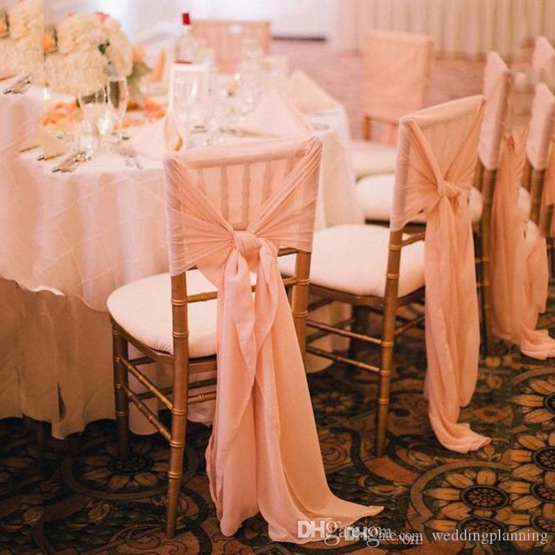 wedding chair sash accessories personalized for baby newest chiffon simple covers weddding custom cheap sashes discount champagne organza