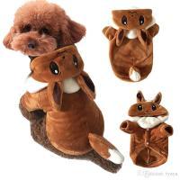 2018 Dog Pikachu Costumes Dog Party Clothing Autumn&Winter ...