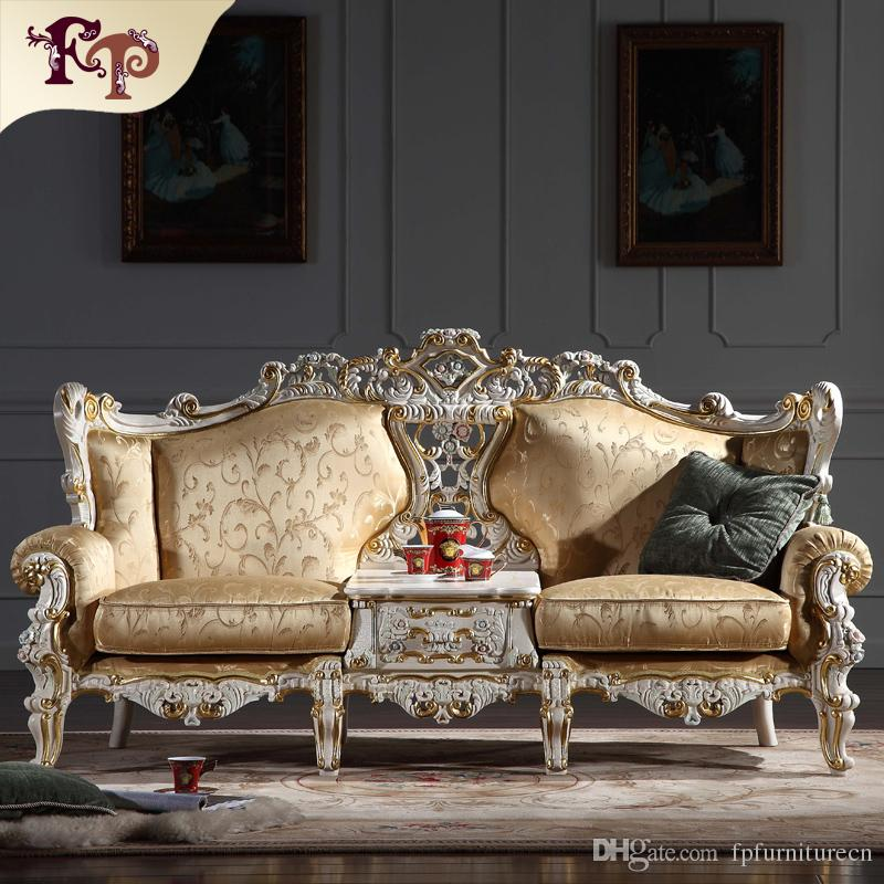 sofa classic l shaped wooden set design 2019 baroque living room furniture european with gold leaf gilding italian luxury from fpfurniturecn 3694 48 dhgate