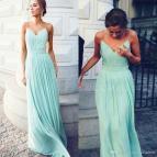 Long Flowy Plus Size Bridesmaid Dresses