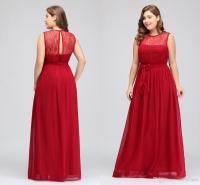 Cheap Plus Size Bridesmaid Dresses 2018 Designer Long Red ...