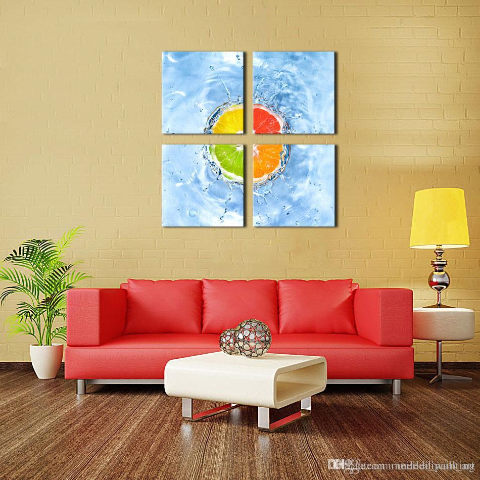 Buy Cheap Paintings For Big Save Home Art The Oranges Wall Art ...