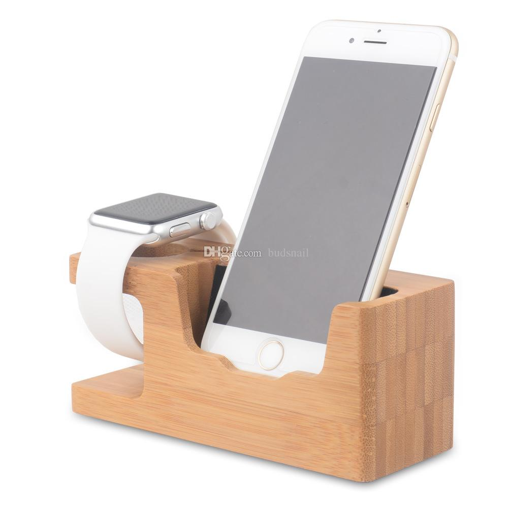 2017 Phone Stands For Desk Smartphone Stand New Bamboo