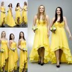 High Low Bridesmaids Dress