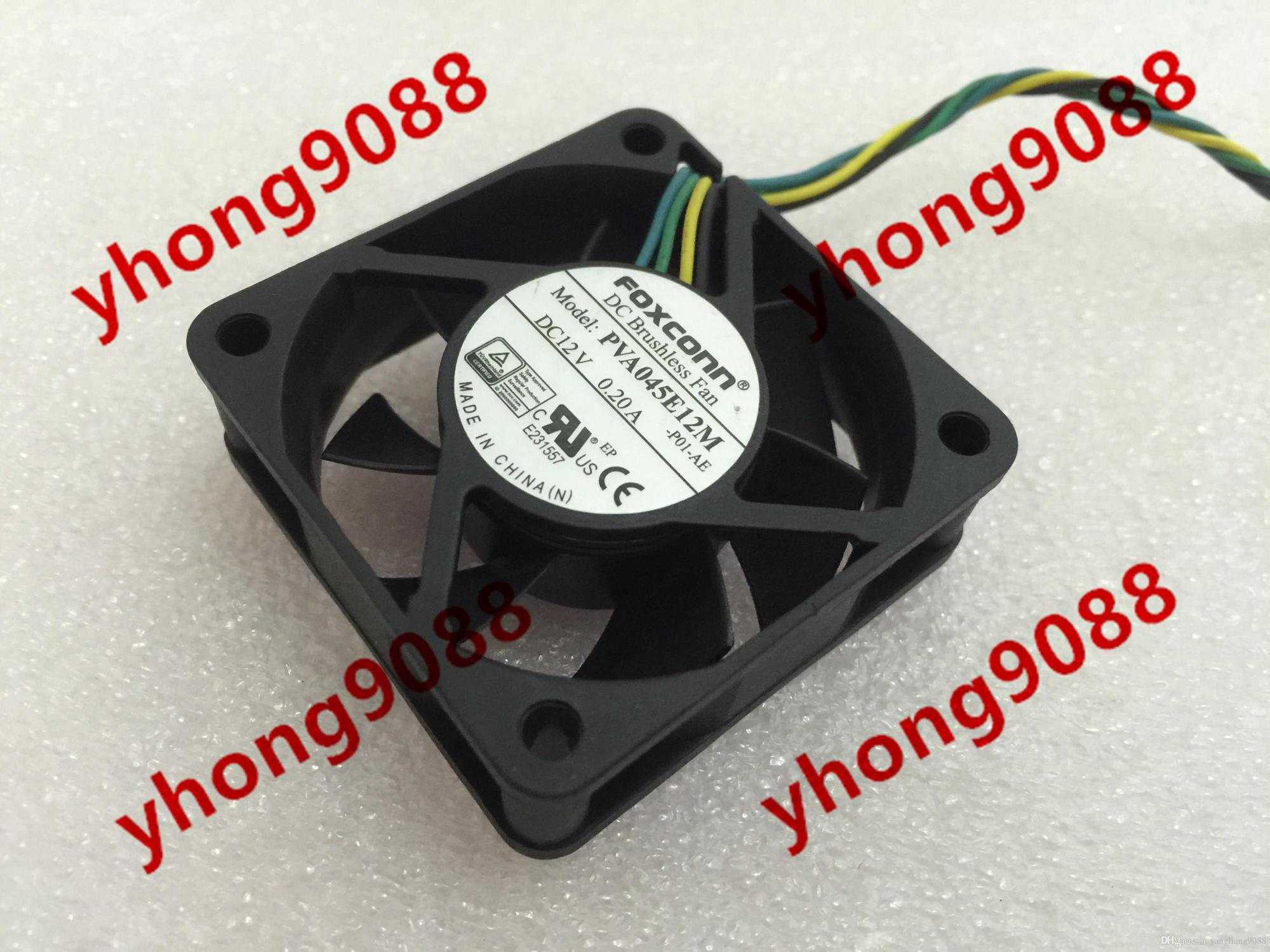 hight resolution of 2019 for foxconn pva045e12m p01 ae dc 12v 0 20a 4 wire 4 pin connector 40mm 45x45x15mm server square fan from yangliang9088 26 89 dhgate com