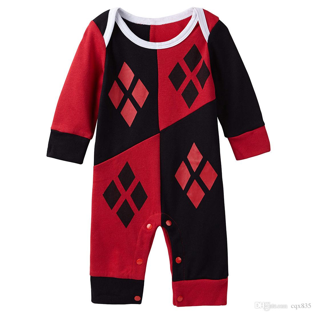 Harley Quinn Baby Outfit