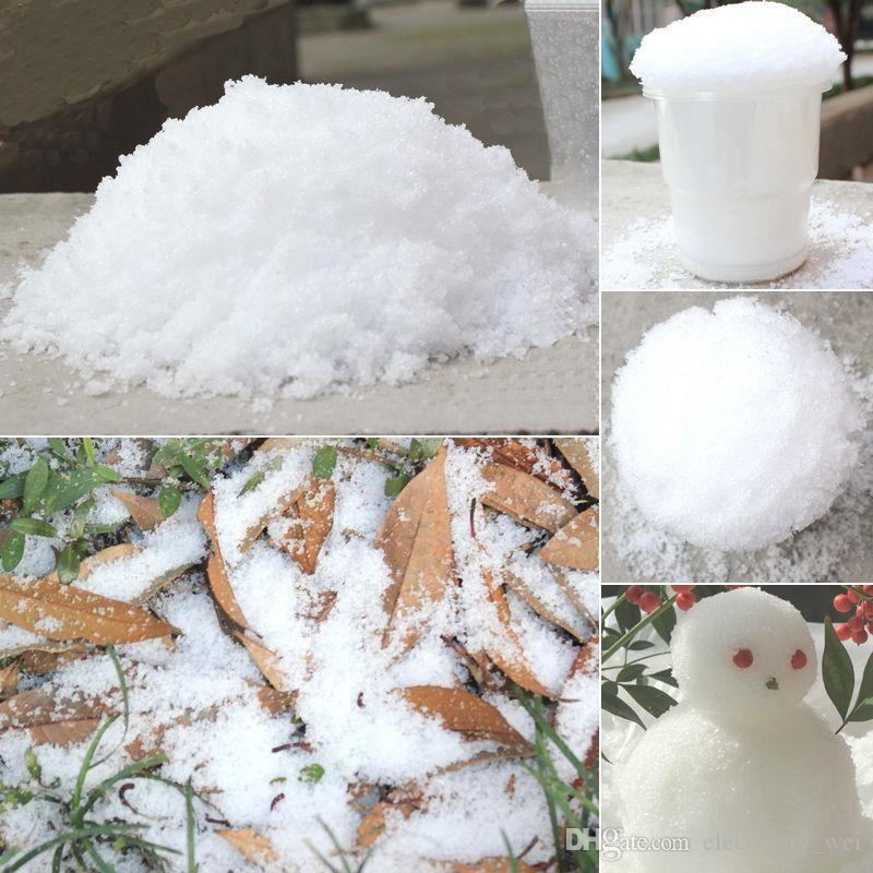 Christmas Decoration Instant Snow Magic Prop Diy Instant