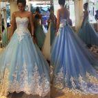 Sky Blue Quinceanera Dresses