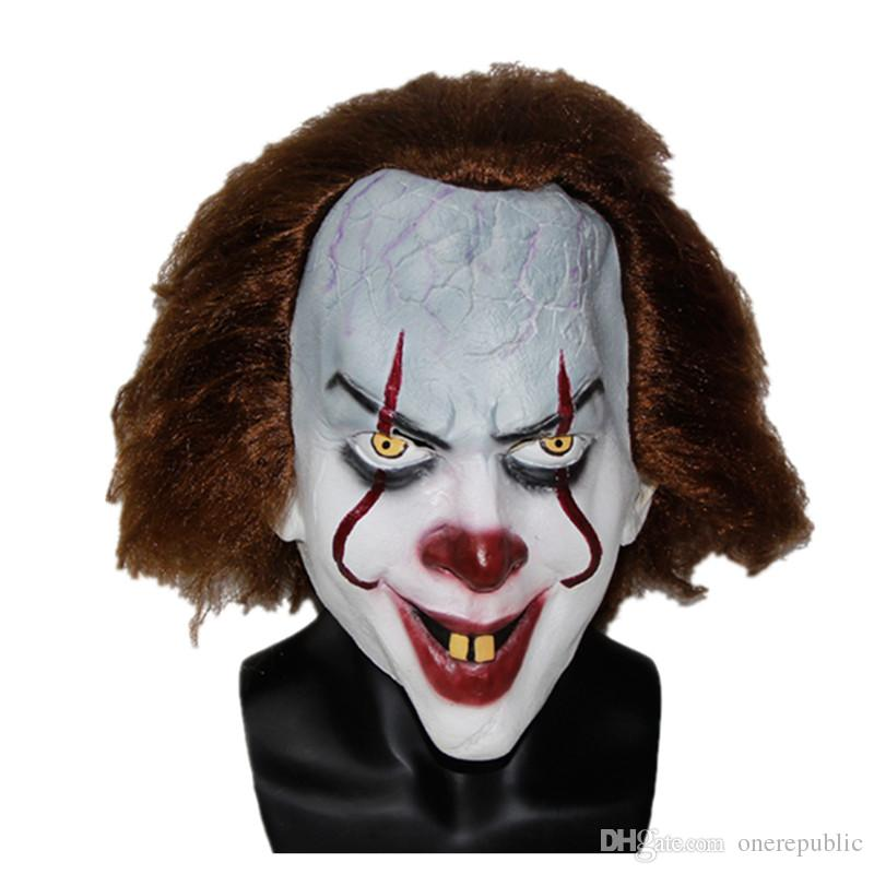 Christmas Mask TOY Pennywise Costume It The Movie By