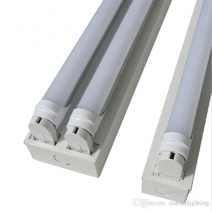 fluorescent light holder electric trailer jack wiring diagram 2019 1200mm double led t8 bracket ac85 265v lamp stent tube lamps lighting full set of from zidonelighting