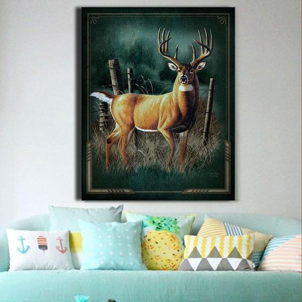 Modern Deer Painting