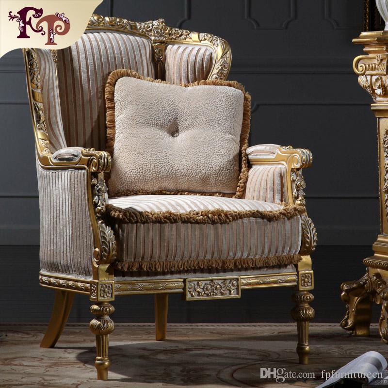 2019 Italian Living Room Furniture Classic Wood Furniture