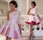 Baby Pink Short Prom Dress