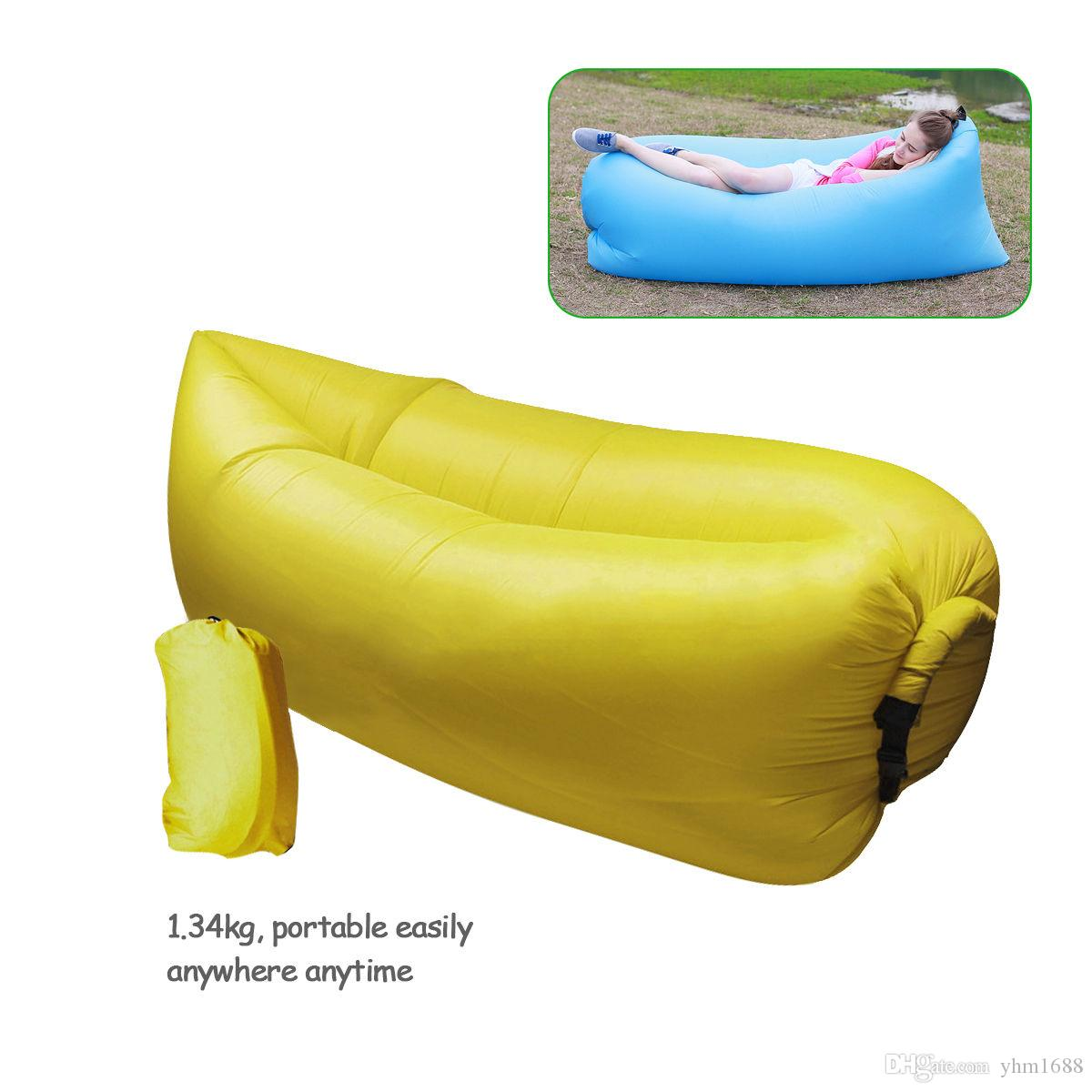 inflatable camping sofa bed spanish sofas uk 2017 ten flying fast bag mattress