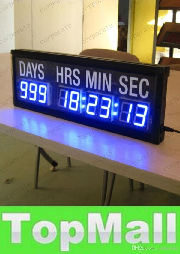 Countdown Clock Days Hours Minutes