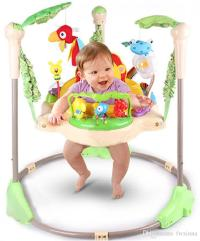 Online Cheap Rainforest Jumperoo Baby Bouncer Rocking ...
