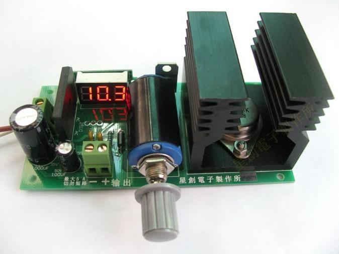 12v 8211 32 V 5a Power Supply By Lm338
