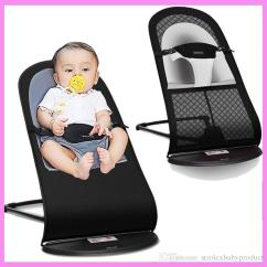 Swing Chair Baby Age Double Papasan Cushion High Quality Portable Newborn Infant Folding Novelty Rocking For Lounge Recliner Children Cradle 0 3 Y White Wooden