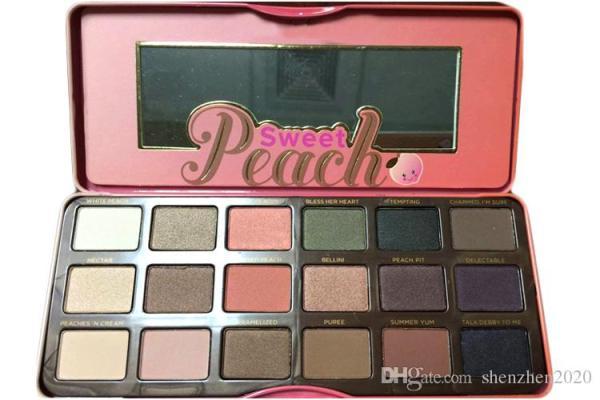 sweet peach palette # 57
