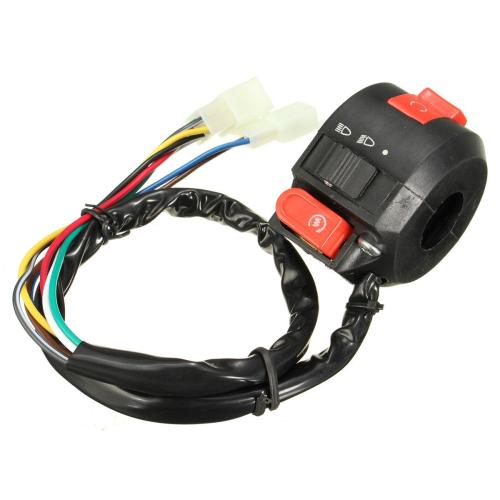small resolution of wholesale left start kill on off switch for chinese atv quad with 22mm handlebar 8 wires atv parts for sale atv parts oem from bdauto 33 66 dhgate com