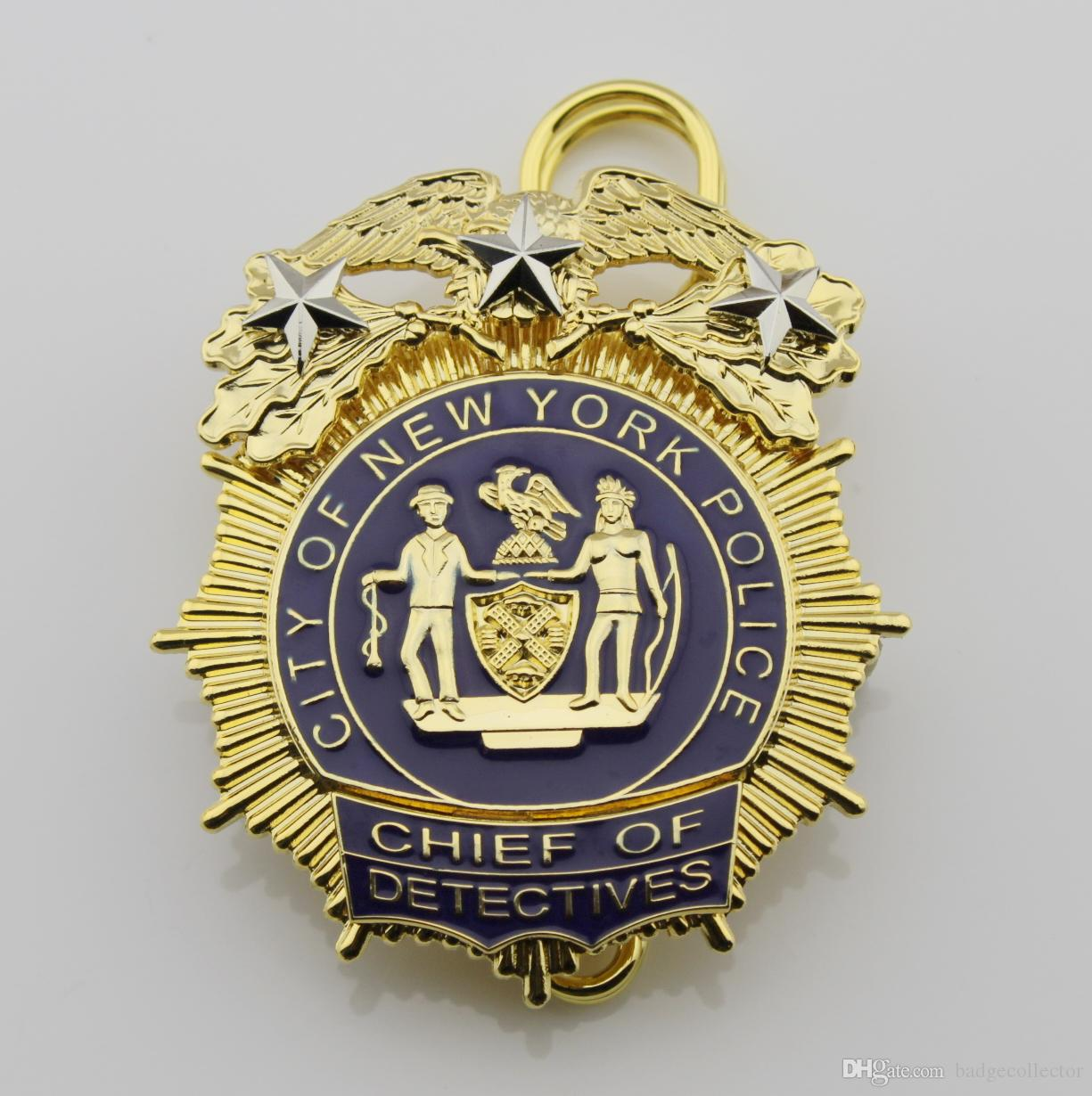 Replica Police Cop Metal Badge High Quality The New
