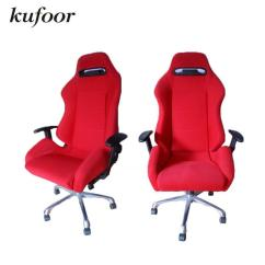 Recaro Office Chair Graco Duodiner High Instructions 2019 Suede Red Adjustable Racing Seats From Ct397726035 552 77 Dhgate Com
