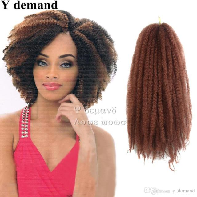 afro kinky twist hair crochet braids 13 colors ombre marley braid hair 16inch senegalese curly crochet synthetic braiding hair