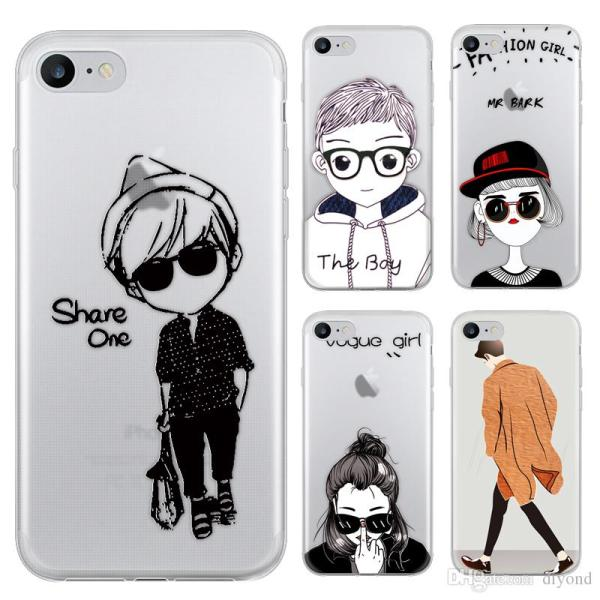 Drawing Characters Series Phone Case For Iphone 7 Iphone 7