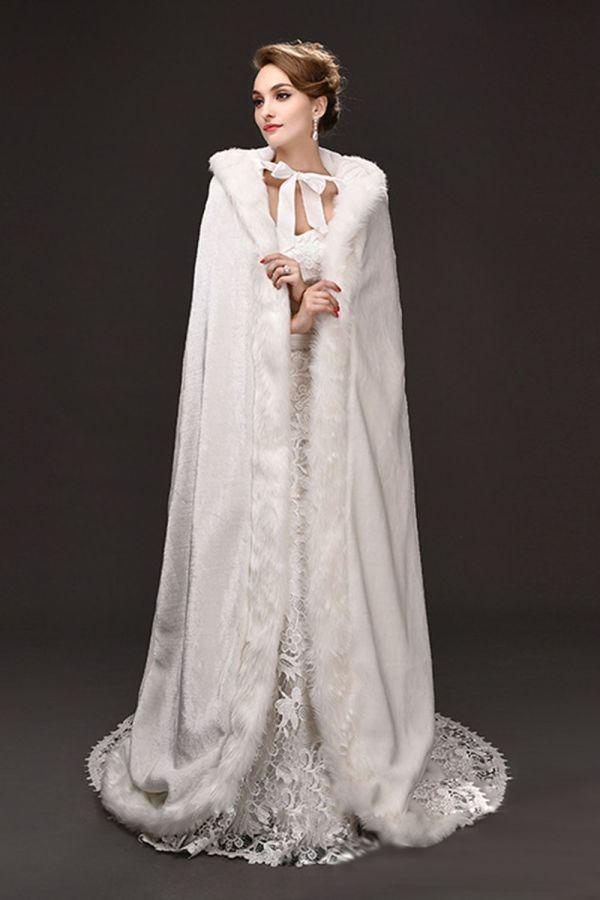 Bridal Capes Winter Wedding Fur Coats