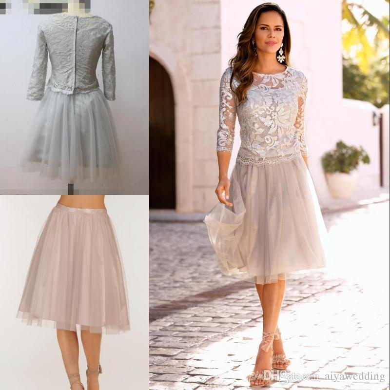 Summer Mother Bride Short Dress_Other dresses_dressesss