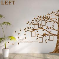 Large Vinyl Family Tree Photo Frames Wall Decal Sticker ...