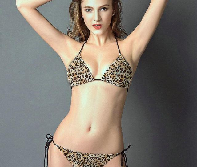 Leopard Printing Bikini Sexy Color Swimwear Hot Girl Swim Wear Black Milk Sport Bathing Suit Woman Swimsuit From Sportmill   Dhgate Com