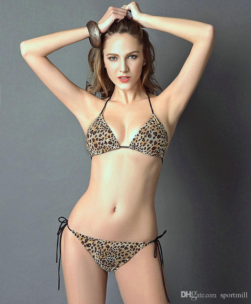 2019 Leopard Printing Bikini Sexy Color Swimwear Hot Girl Swim Wear Black Milk Sport Bathing Suit Woman Swimsuit From Sportmill 13 07 Dhgate Com