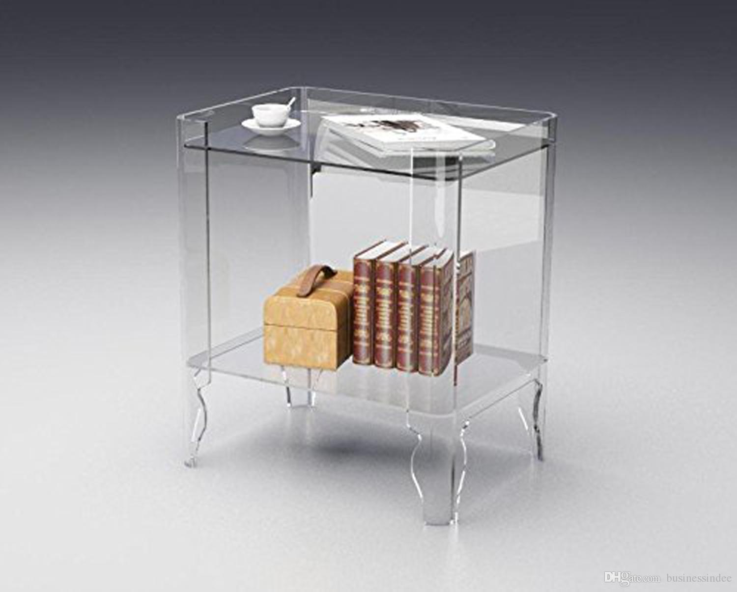 clear acrylic book case