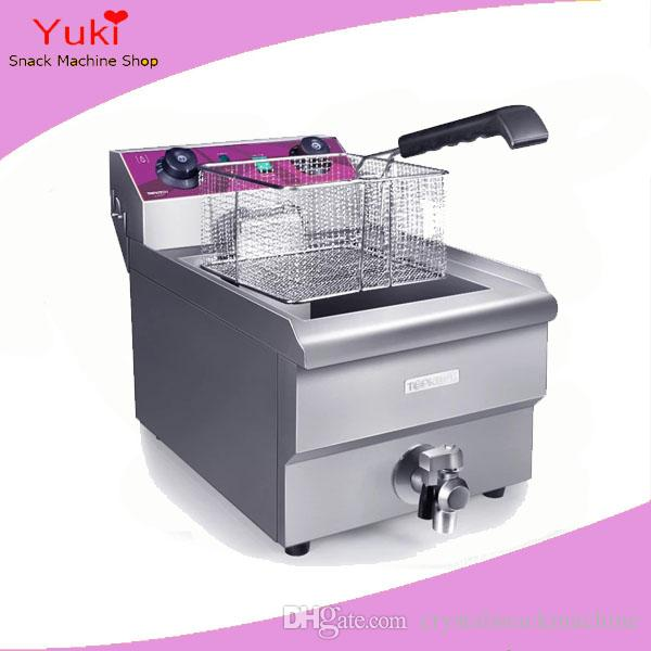 kitchen fryer grey mat 13l commercial chicken chip electric deep basket kfc frying machine potato 220v canada 2018 from