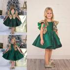 Little Girl Pageant Dress Emerald Green