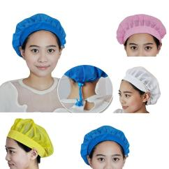 Kitchen Hats Hape Hot Chef Cooking Breathable Mesh Adjustable Dust Cap Restaurant Uniform Work Wear Food Service Hair Accessory For Buns Doughnut From