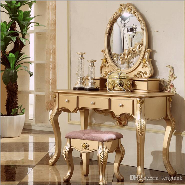 2019 Factory Price RoyalEuropean Mirror Table Modern