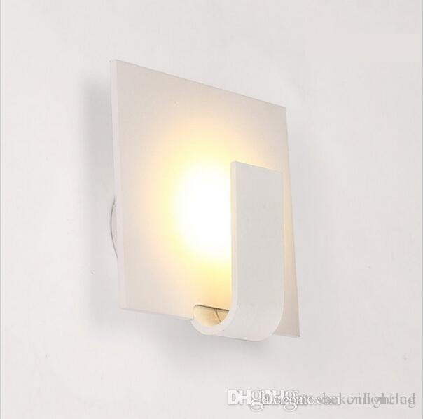 modern wall sconces living room teal gray 2019 3w led lights bedside dining lamps for home indoor lighting fixture from shekenlighting 25 12 dhgate com
