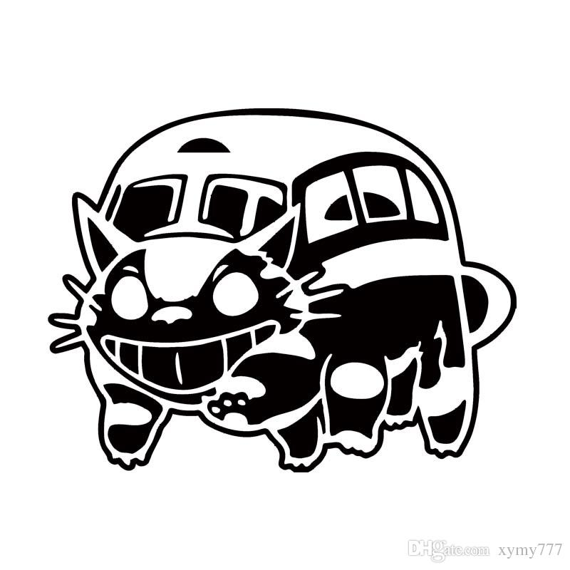 2019 New Style Car Styling For Ghibli Totoro Catbus Vinyl