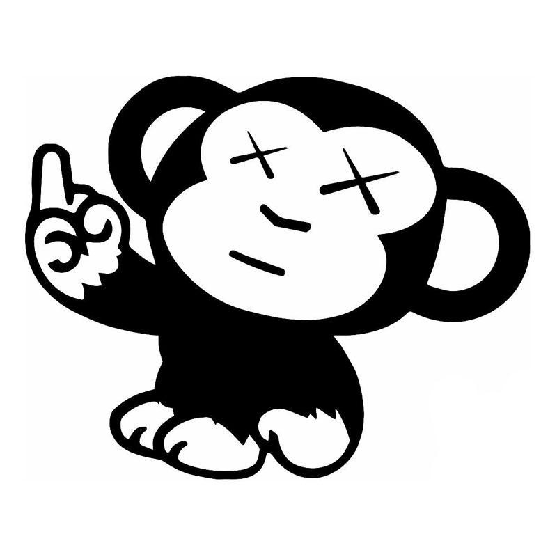 online cheap automobiles naughty monkey jdm car styling cool vinyl decorative decal car sticker