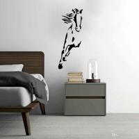 Wild Running Horse Art Vinyl Wall Sticker Animal Creative ...