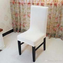 Stretch Dining Chair Covers Kitchen Table With Rolling Chairs White Spandex Cover Machine Washable Restaurant For Weddings Banquet Folding Hotel Covering Slipcovers Couch Buy Wedding