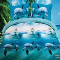 Wholesale Amazing 3d Dolphin Bedding Set Queen Size Duvet ...