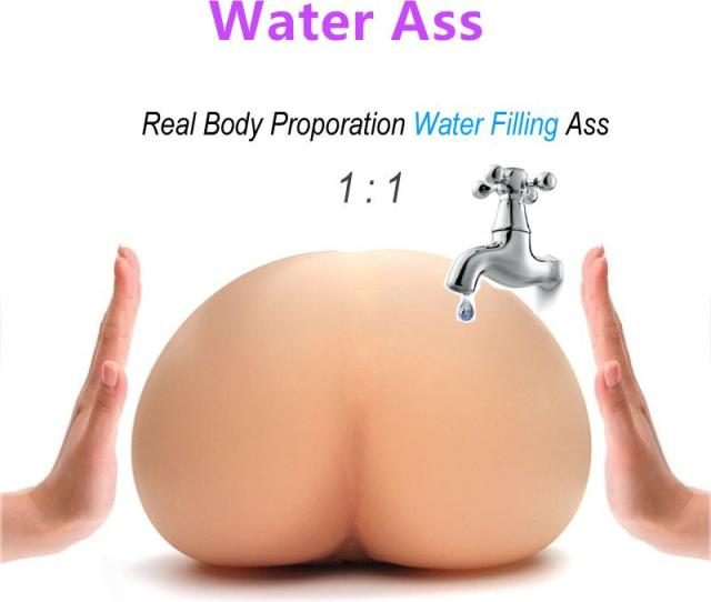 Solo Flesh Sex Doll Male Masturbactor Injecting Warm Water Filling Inflatable Silicone Realistic Pussy Real Body Temperature Big Ass Toy Solo Flesh Sex Doll
