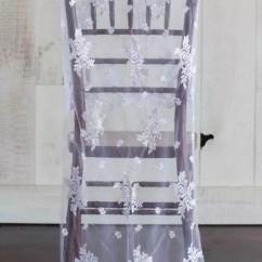 Chair Covers Vintage Pvc Lounge 2019 2018 Custom Made 2017 White Lace Tulle Romantic Sashes Beautiful Fashion Wedding Decorations C01 From New Beginning99